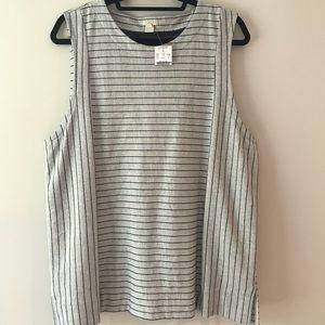 Jcrew tank blouse